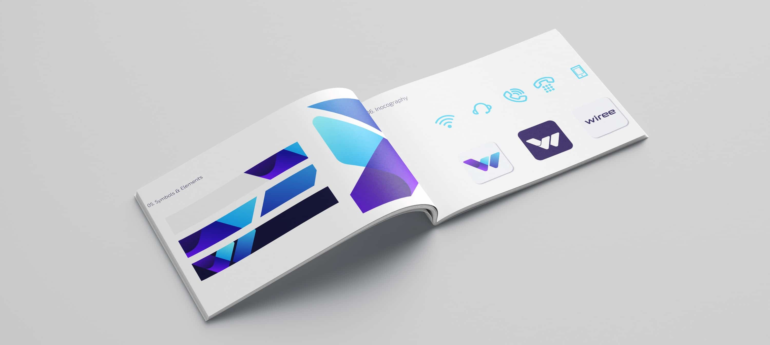 Improve graphic design for business | Wiree brand guidelines