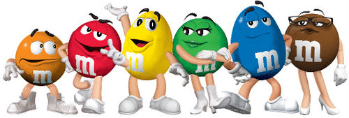 M&M Graphic Design Characters