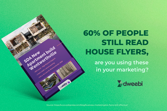 Are you using house flyers?